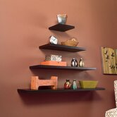 Gayle Floating Shelf in Espresso