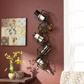 Carini 5 Bottle Wall Mounted Wine Rack