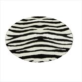 Animal Zebra Bold Striped Rug