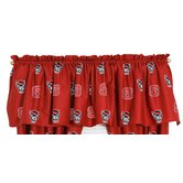 North Carolina State Printed Curtain Valance