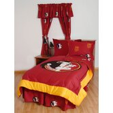 FSU Bed in a Bag with Team Colored Sheets