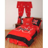 Nebraska Bed in a Bag with Team Colored Sheets