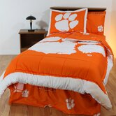 Clemson Bed in a Bag with Team Colored Sheets
