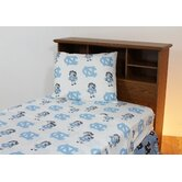 University of North Carolina Printed Sheet Set in White