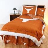 Texas Bed in a Bag with Team Colored Sheets