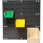 Louvered Panels with Bins (Complete Package)
