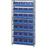 "12"" Giant Open Hopper Shelf Storage System"