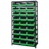 10 Shelf Giant Open Hopper Magnum Storage Unit (Complete Package)