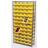 Economy Shelf Storage Units (75&quot; H x 36&quot; W x 18&quot; D) with Bins
