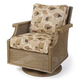 Hamptons Swivel Deep Seating Arm Chair