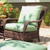Haven Deep Seating Fabric Lounge Chair