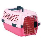Kennel Cab Pet Carrier in Pink