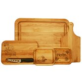 Entertaining Cutting Board Set