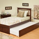 Urban Lifestyle Mission Bed with Trundle