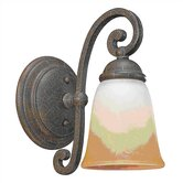 Brandywine 1 Light Wall Sconce in Grecian Stone