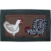 Fly the Coop Novelty Rug