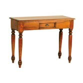 Mahogany Village Scallop Console Table