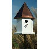 Copper Songbird Deluxe Bird House