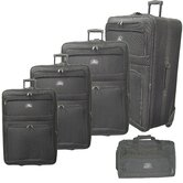 5 Piece Upright Luggage Set