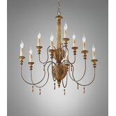 Annabelle 9 Light Chandelier