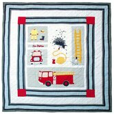 Fire Truck Quilt