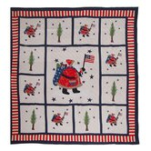 Colonial Santa Quilt