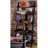 "Camden 76"" H Wall Storage in Black"