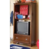 "Deer Run 72"" H TV Cabinet / Bookcase"