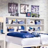 Elite Reflections Bookcase Bed Headboard Only