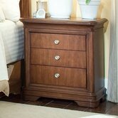 Elite Classics 3 Drawer Nightstand
