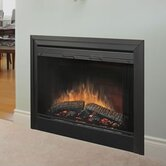 2-Sided Built-in Electric Fireplace