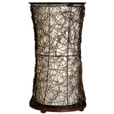 Linen Fabric Liner Table Lamp