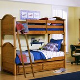 Cottage Twin over Twin Bunk Bed Bedroom Set