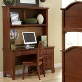 Hamilton Franklin 52&quot; Computer Desk with Hutch and Optional Chair