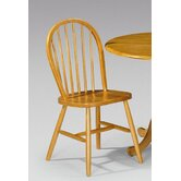 Dundee Windsor Dining Chair in Honey Pine