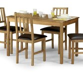 Coxmoor Dining Table in Solid White Oak - 118cm