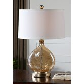 "Arielli 22.25"" H Table Lamp with Oval Shade"
