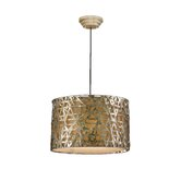 Alita 3 Light Drum Foyer Pendant