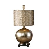 Julian Table Lamp in Antiqued Silver