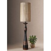 Dafina Buffet Lamp in Distressed Aged Black