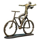 Freedom Rider Sculpture in Sage Green