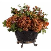 English Autumn Floral Bouquet Planter