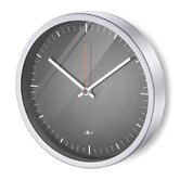 Durata Round Quartz Wall Clock in Black