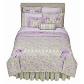 Flower Basket Lilac and Green Bedding Collection