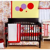Sateen Sprinkles Crib Bedding Collection
