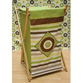 Mod Dots and Stripes Hamper