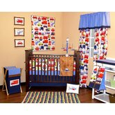 Transportation Crib Bedding Collection