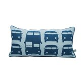 Rush Hour Kids Organic Cotton Pillow in Turquoise