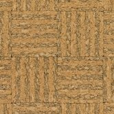 Basket Weave Click-Lock Hardwood Flooring Cork