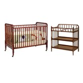 Jenny Lind Two Piece Convertible Crib Set